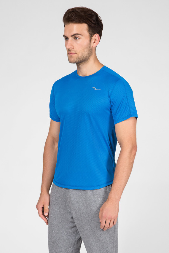 Мужская синяя футболка HYDRALITE SHORT SLEEVE