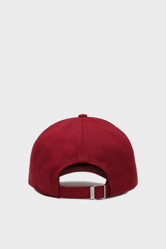 Мужская бордовая кепка GANT NEW TWILL