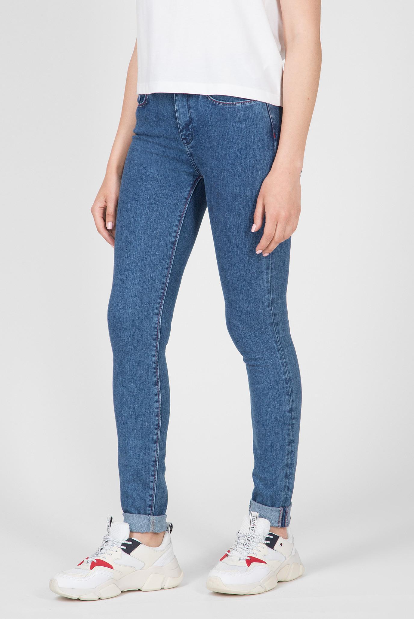 Купить Женские синие джинсы COMO SKINNY RW ALEKA Tommy Hilfiger Tommy Hilfiger WW0WW24481 – Киев, Украина. Цены в интернет магазине MD Fashion