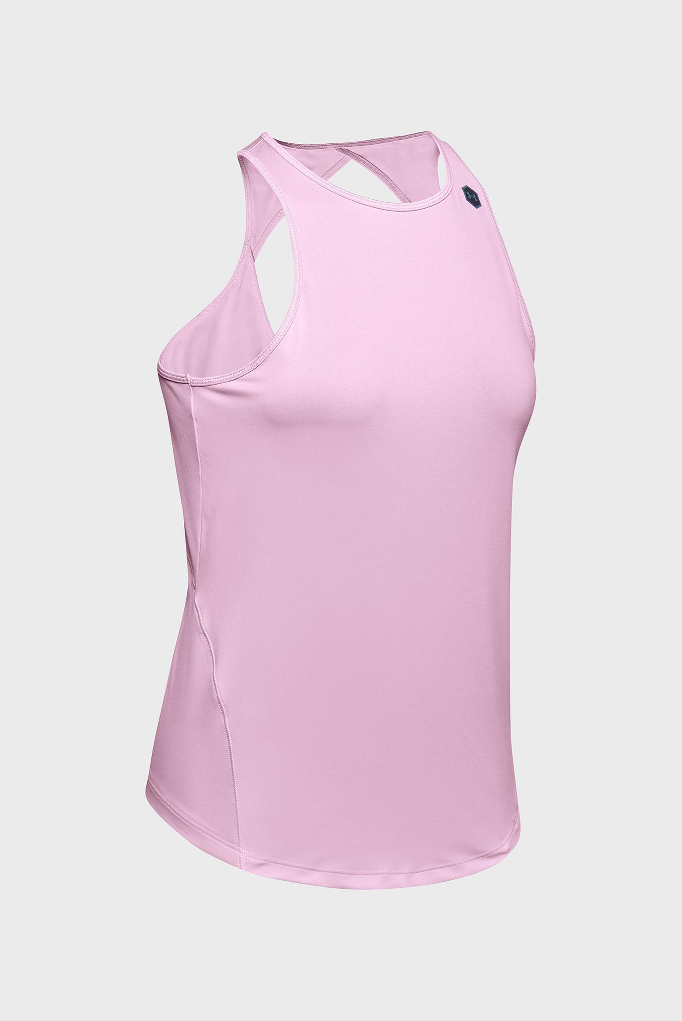 Женская розовая майка UA Rush Tank Under Armour