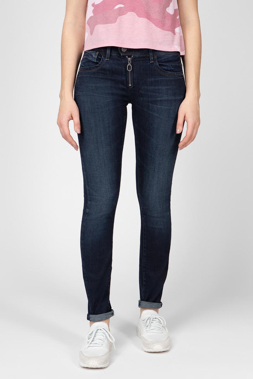 Женские темно-синие джинсы LYNN Zip
