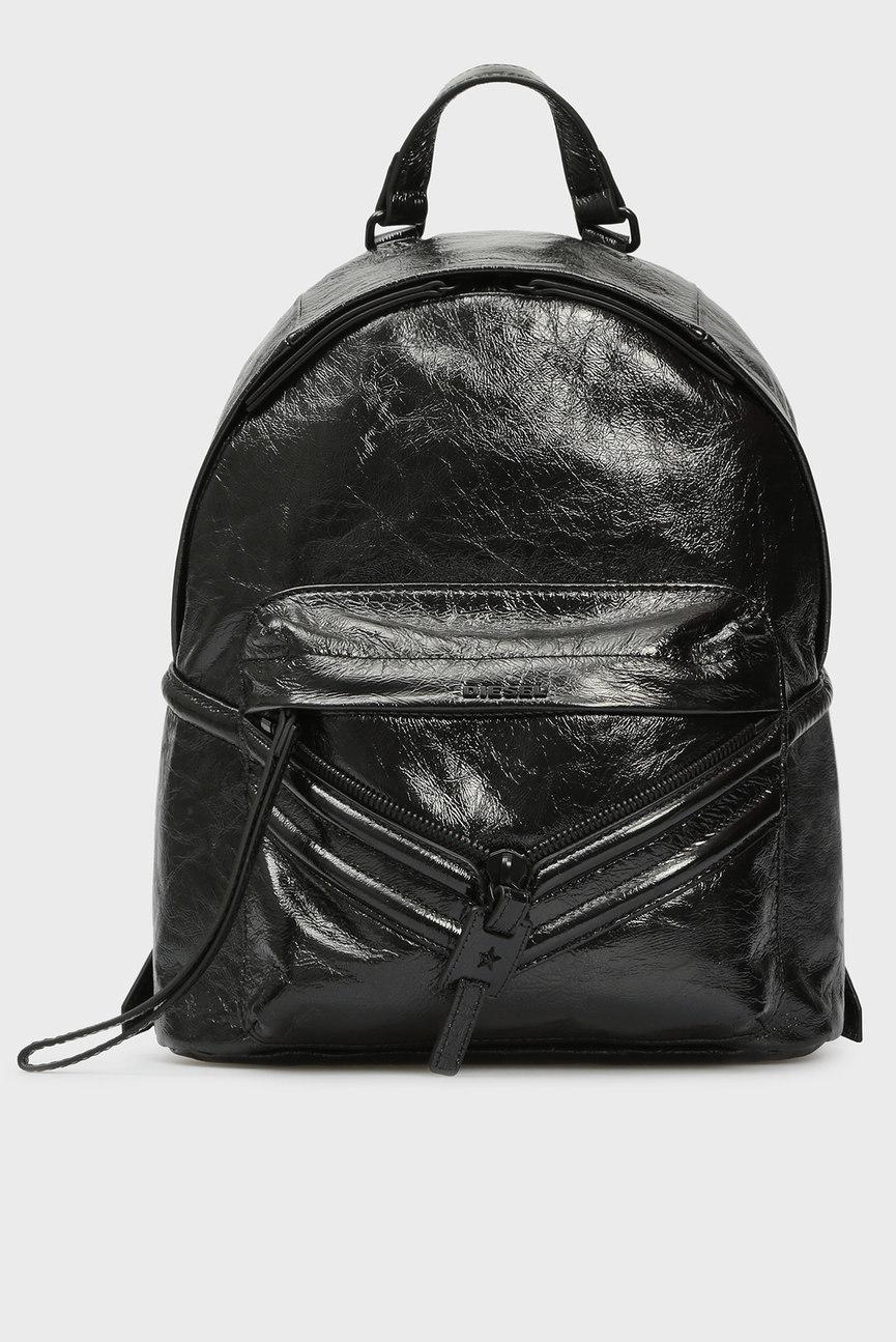 Женский черный рюкзак LE-ZIPPER