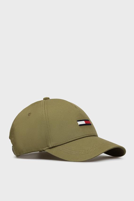 Мужская зеленая кепка TJM FLAG