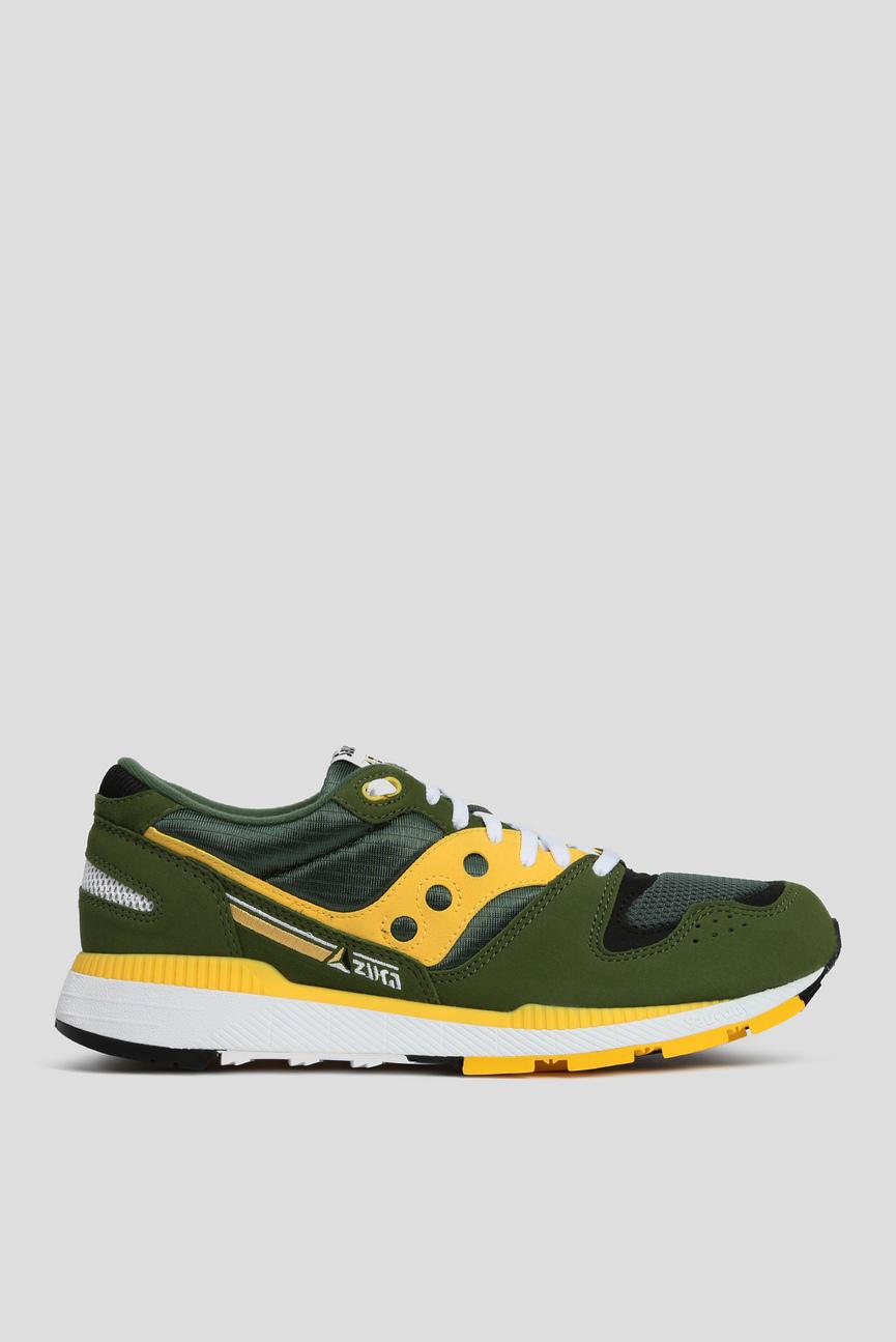 Мужские зеленые кроссовки AZURA