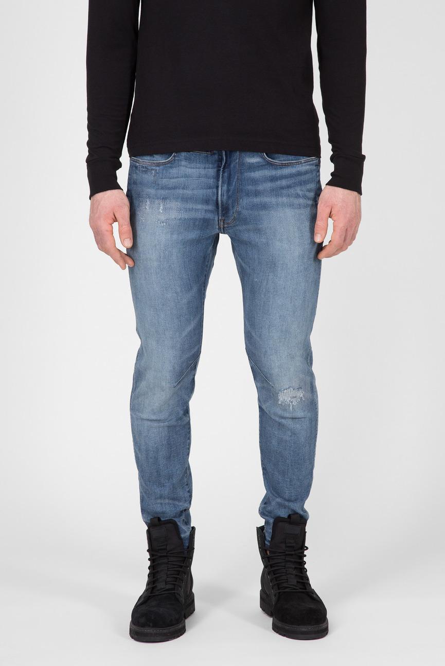 Мужские синие джинсы D-Staq 3D Skinny
