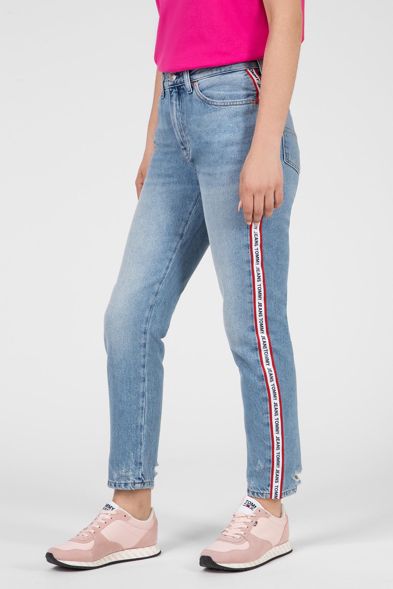 Купить Женские голубые джинсы HIGH RISE SLIM IZZY Tommy Hilfiger Tommy Hilfiger DW0DW05901 – Киев, Украина. Цены в интернет магазине MD Fashion