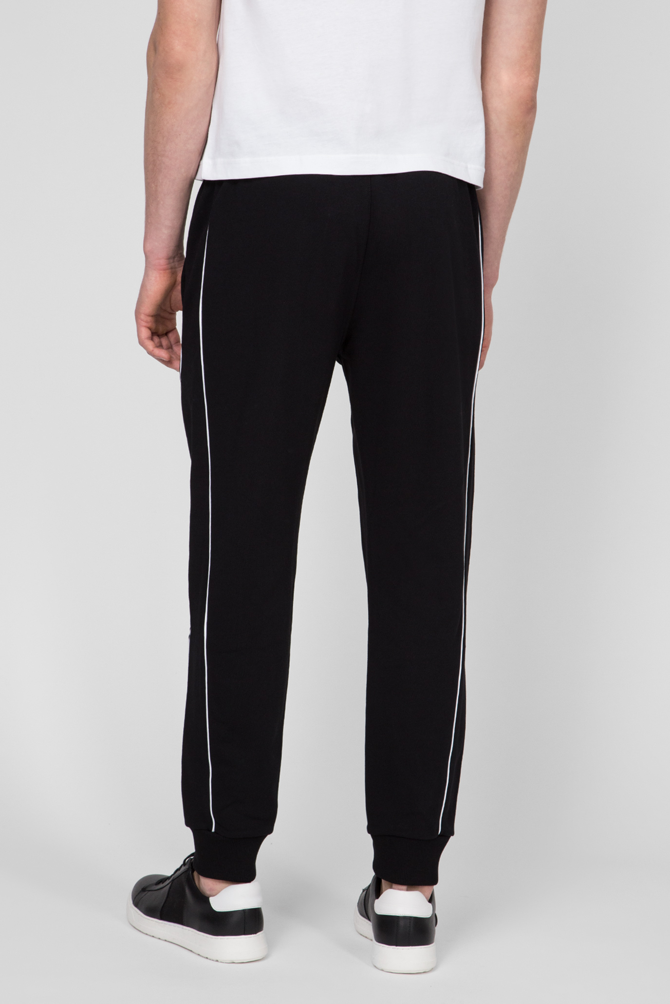 a00c9e0a Купить Мужские черные спортивные брюки LOGO PRINT Calvin Klein Calvin Klein  K10K103382 – Киев, Украина. Цены в ...