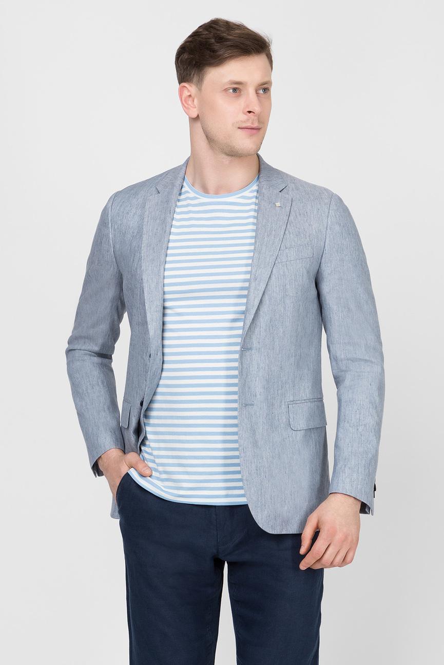 Мужской светло-синий пиджак