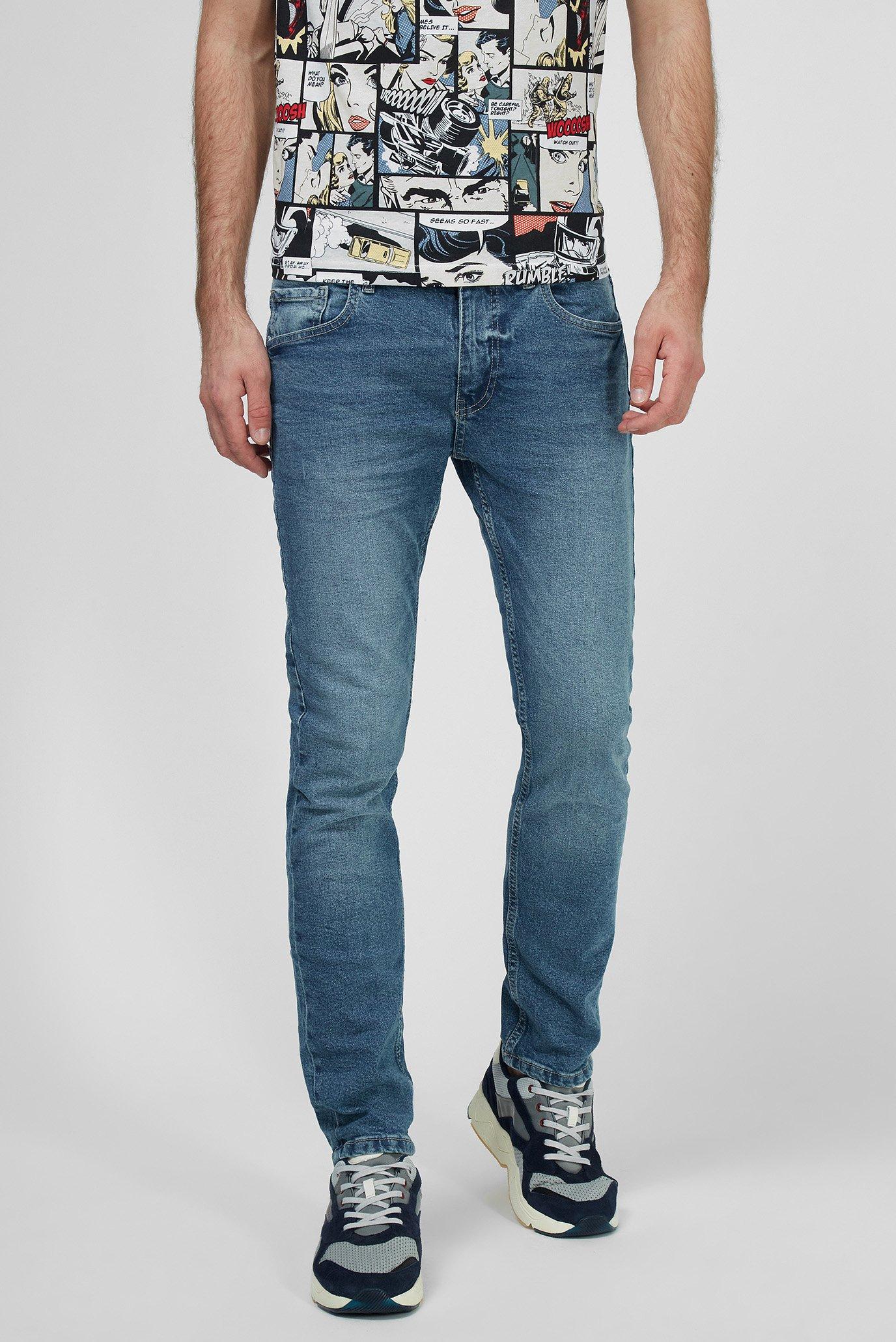 Мужские голубые джинсы Terranova 0046299 — MD-Fashion