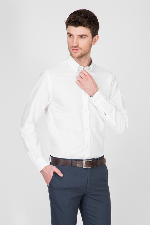 Мужская белая рубашка ORGANIC OXFORD