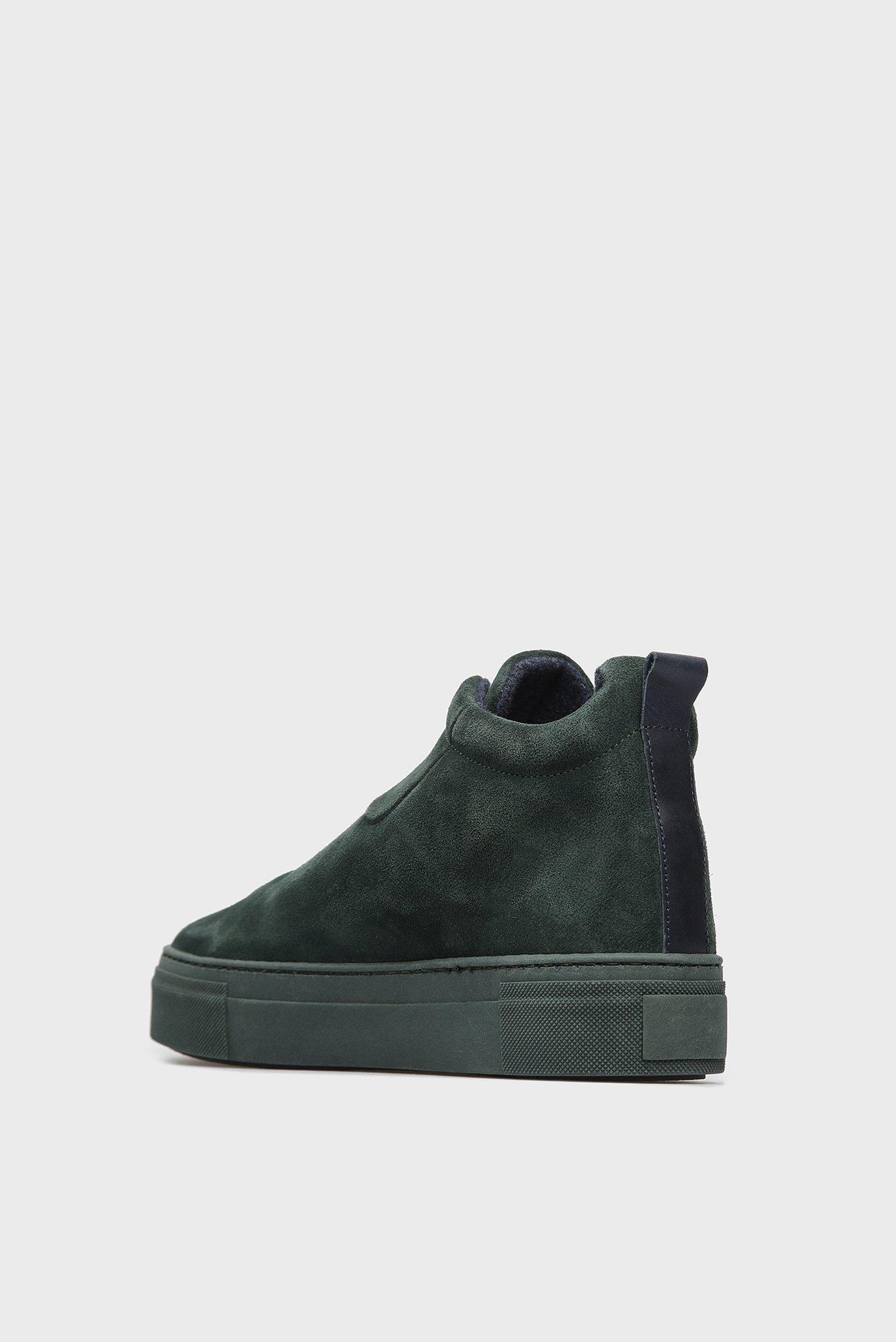 Купить Женские зеленые замшевые ботинки MARIE Gant Gant 17553941 – Киев, Украина. Цены в интернет магазине MD Fashion