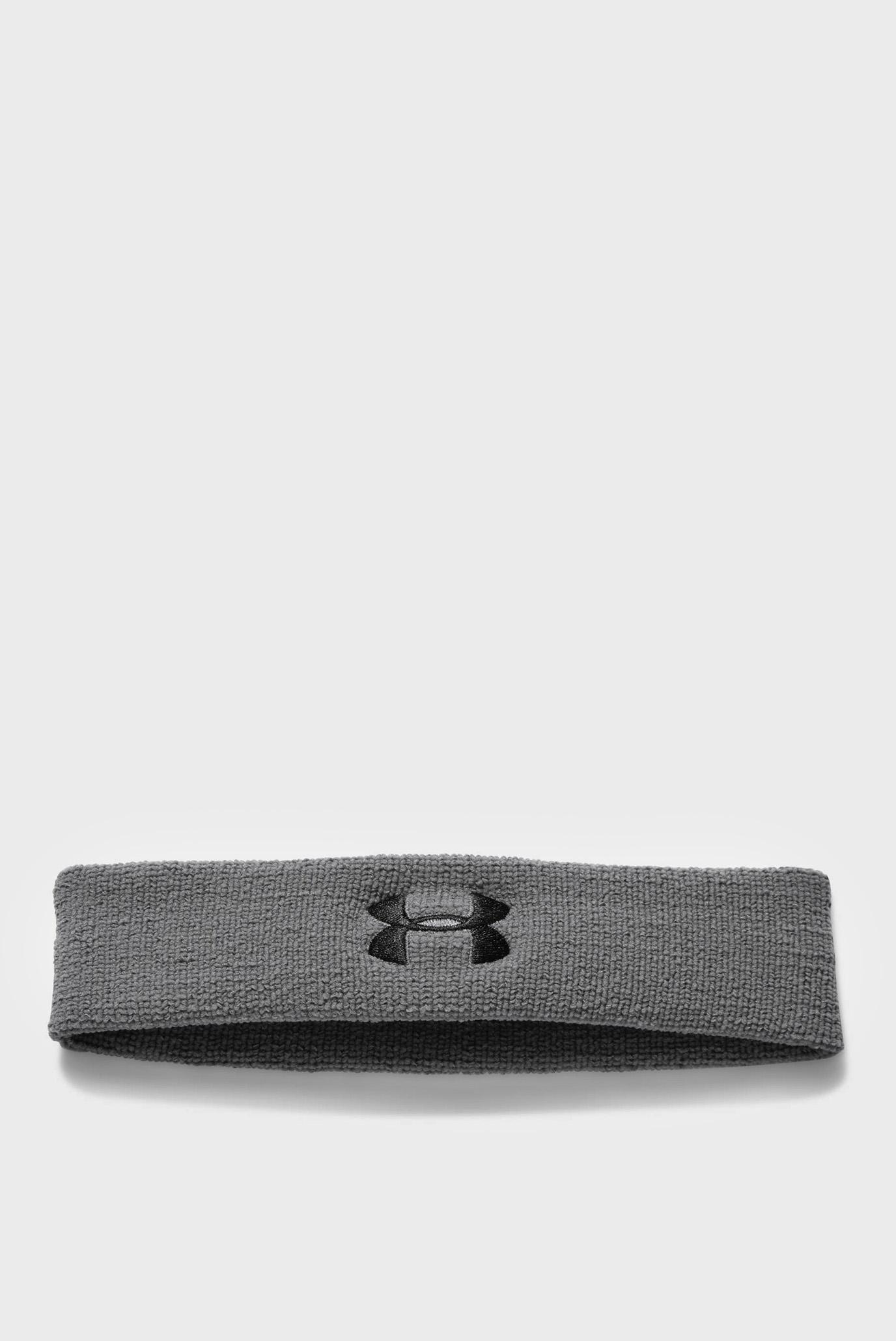 Купить Мужская серая повязка Performance Headband Under Armour Under Armour 1276990-040 – Киев, Украина. Цены в интернет магазине MD Fashion