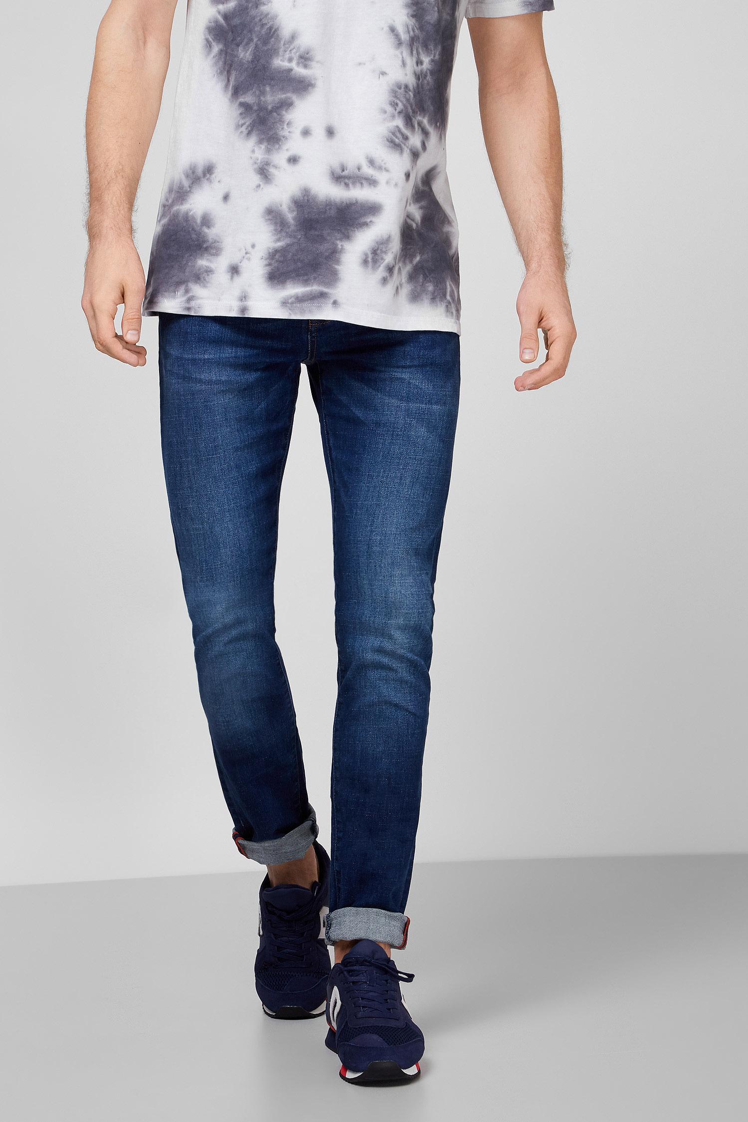 Мужские темно-синие джинсы SuperDry M70011NS;VF6 — MD-Fashion