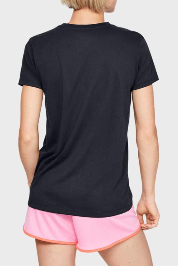 Женская черная футболка GRAPHIC SPORTSTYLE CLASSIC CREW-BLK