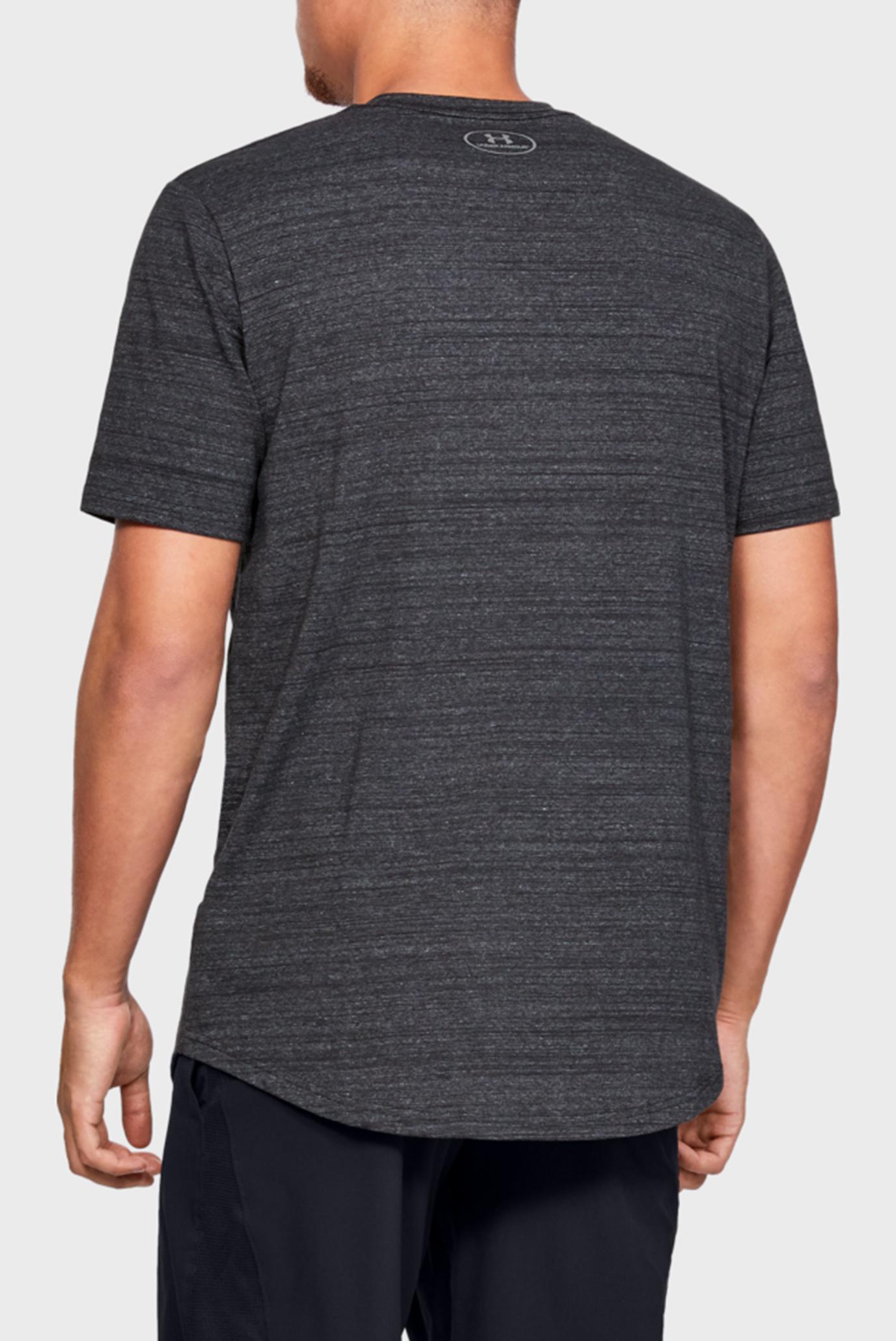 Мужская черная футболка PROJECT ROCK RESPECT TEE Under Armour