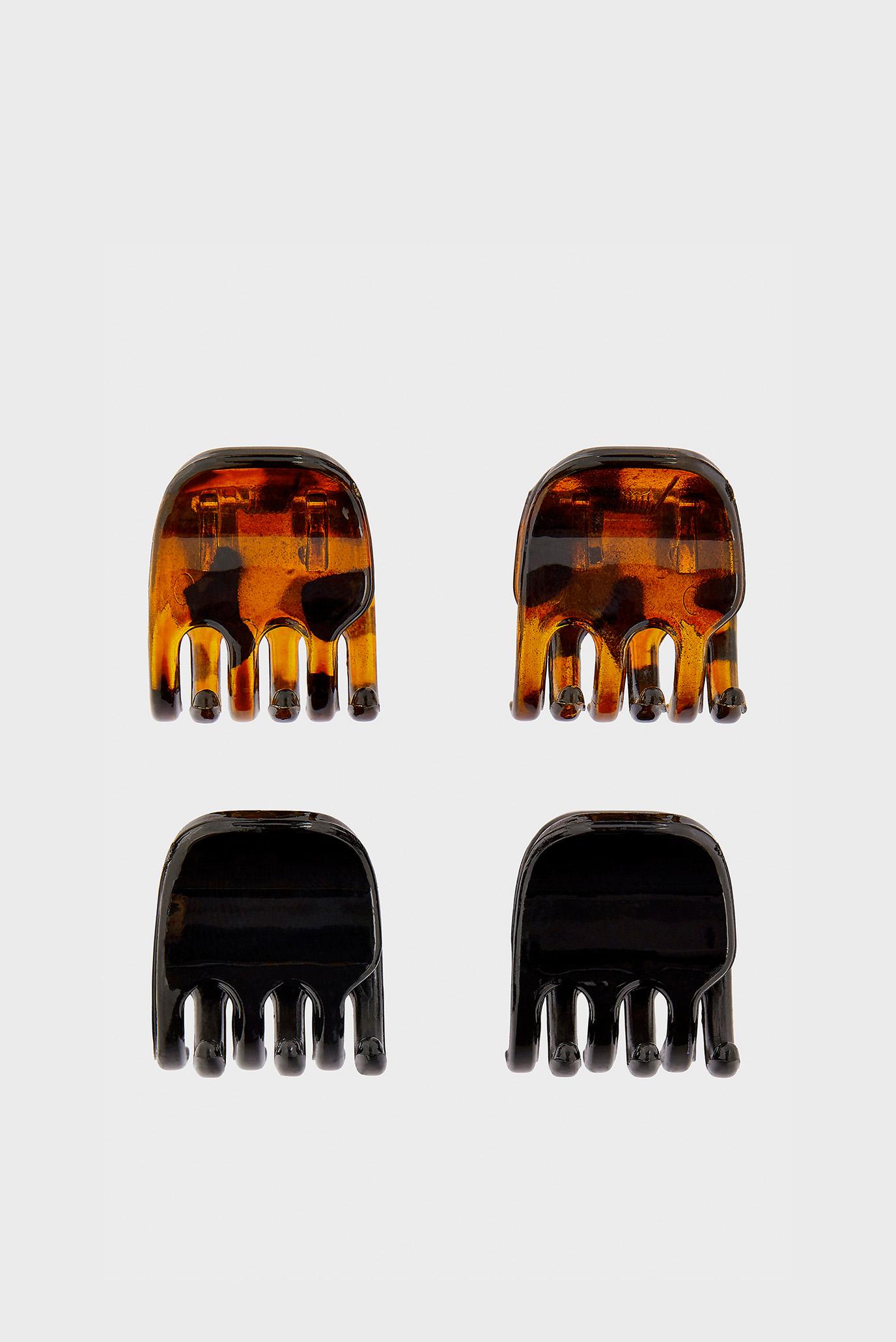 Жіночі коричневі заколки MEDIUM BASIC BULL 1
