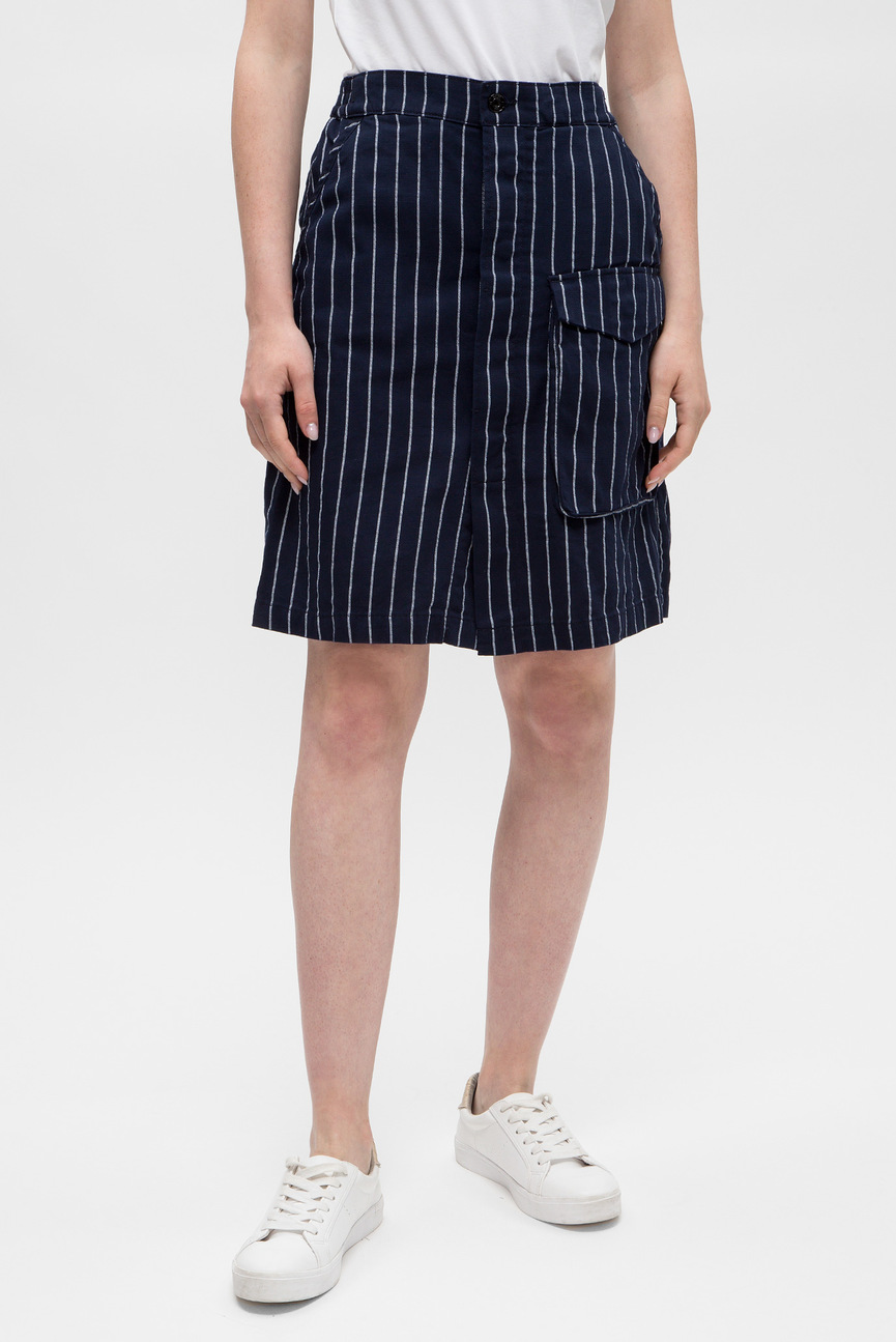 a36dc281ab2 Купить Женская темно-синяя юбка Oodji Oodji 21601273-1 14522 7900N ...