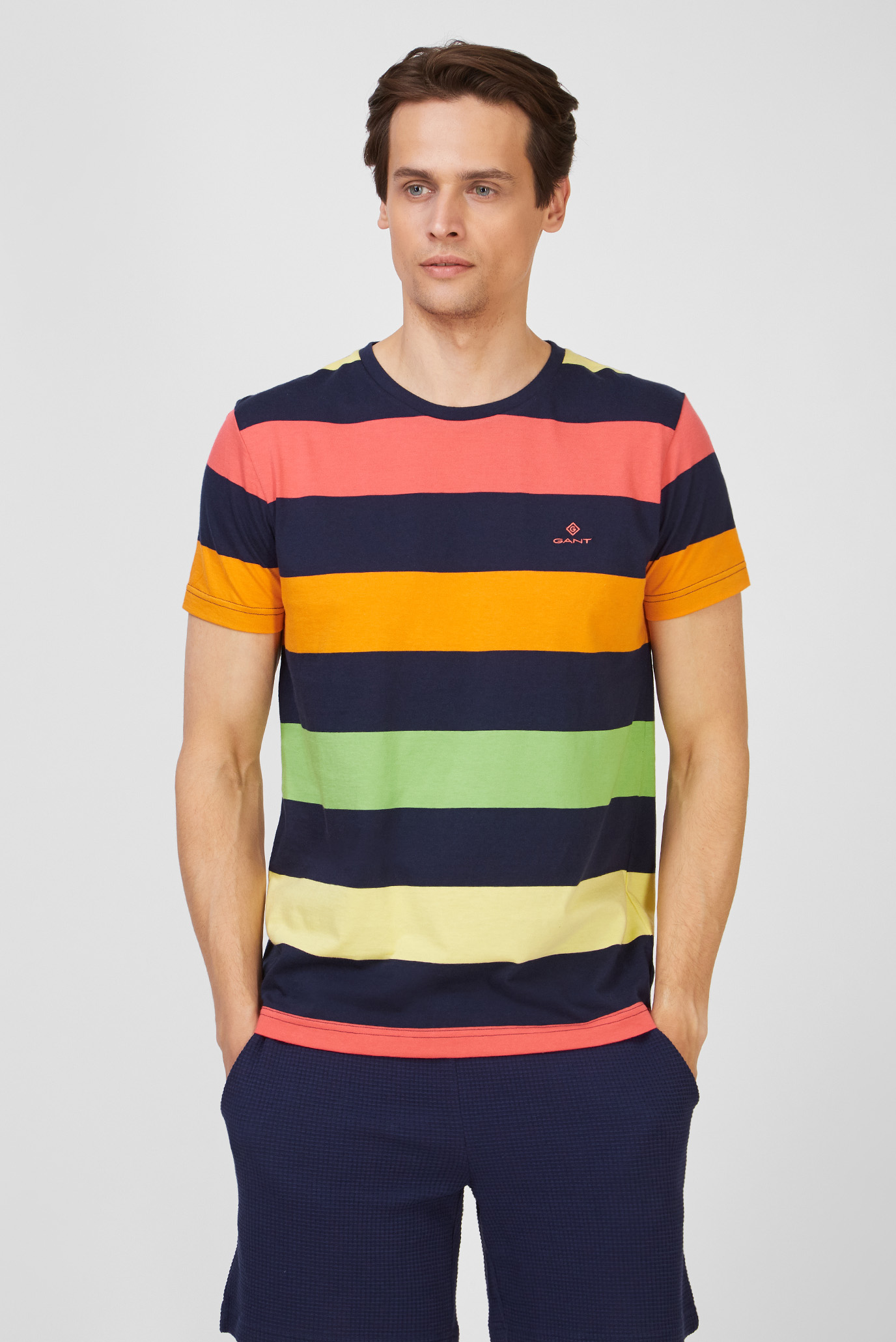Мужская футболка в полоску BARSTRIPE 1