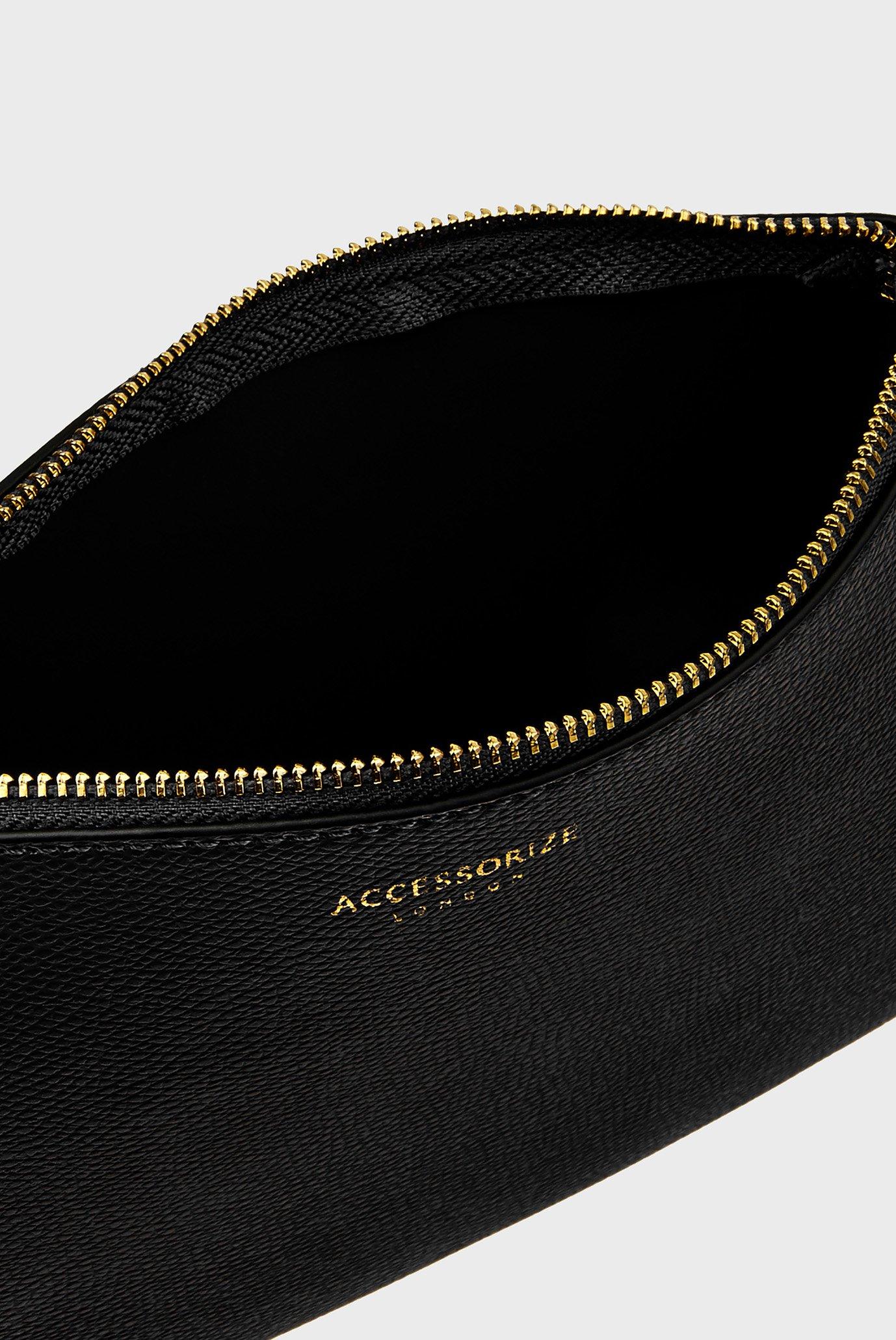 Женский черный кошелек LEO POUCH Accessorize