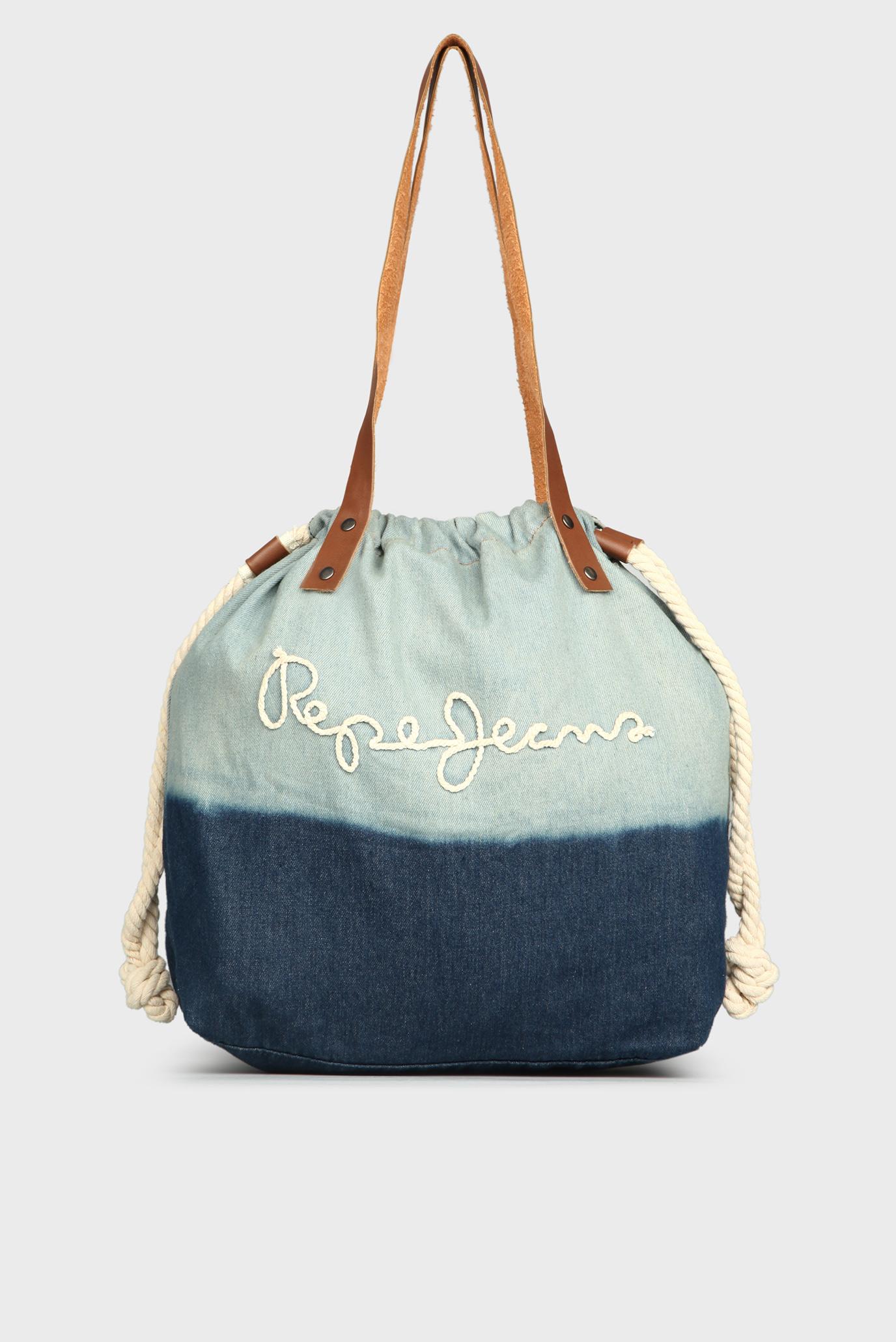 c85a05469a9a Купить Женская темно-синяя сумка на плечо Pepe Jeans Pepe Jeans PL030706 –  Киев, Украина. Цены в ...