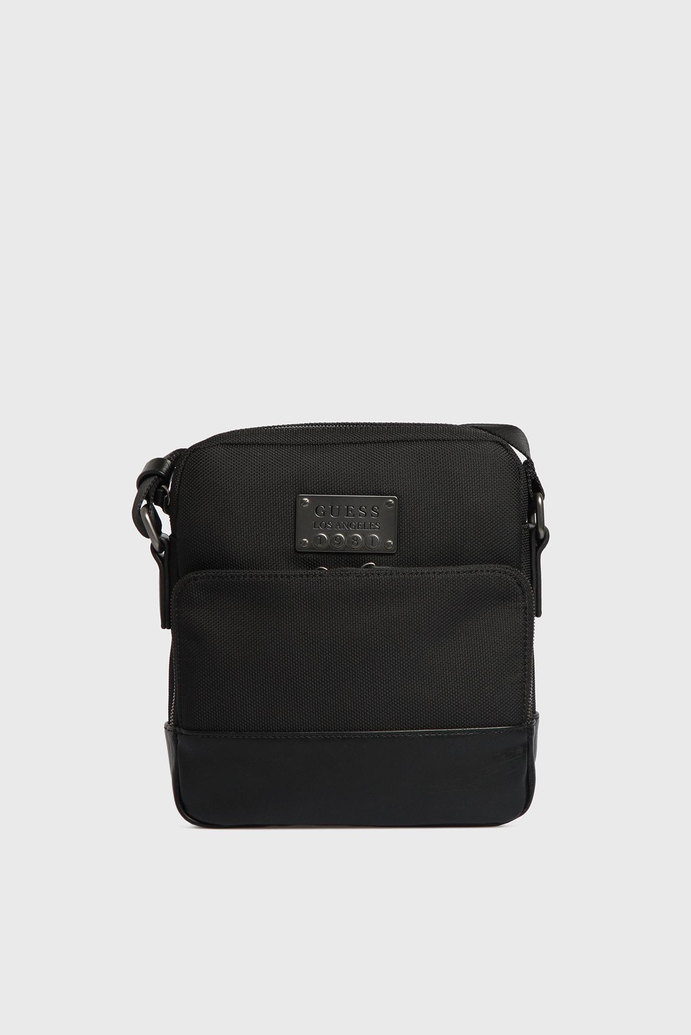 Купить Мужская черная сумка через плечо Guess Guess HM6134NYL73 – Киев,  Украина. Цены в интернет магазине MD Fashion cc5ac87bc99