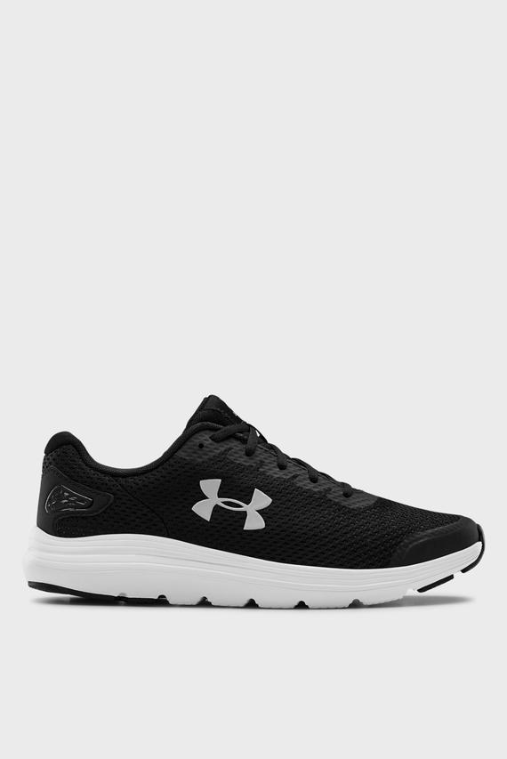Мужские черные кроссовки UA Surge 2-BLK