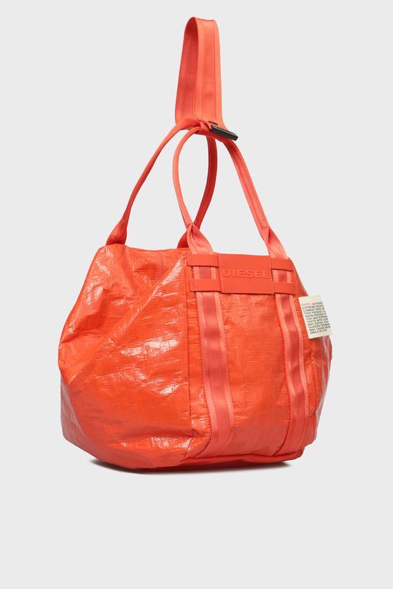 Женская оранжевая сумка на плечо CAGE