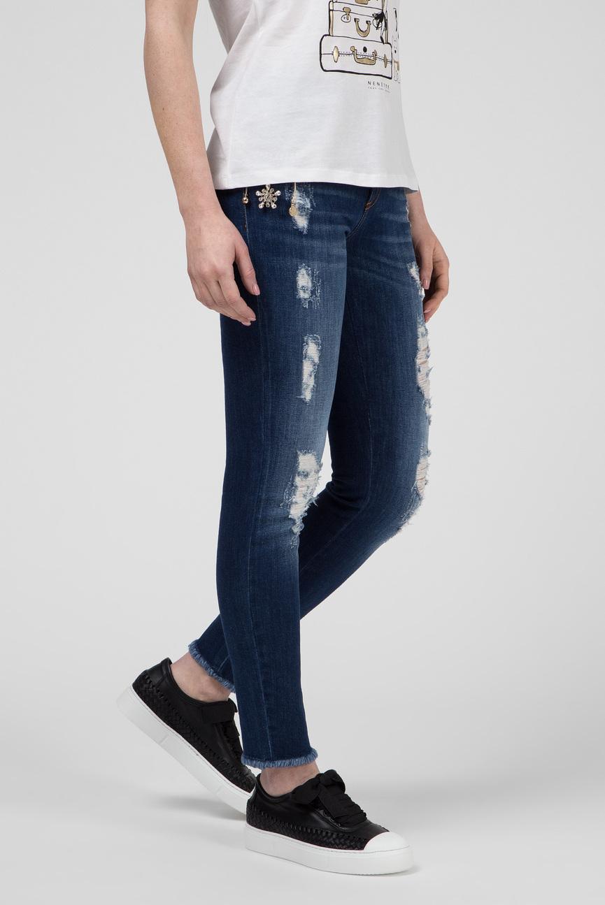 Мужские темно-синие джинсы SANDRA