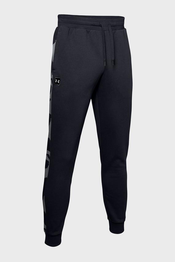 Мужские черные спортивные брюки RIVAL FLEECE PRINTED JOGGER-GRN