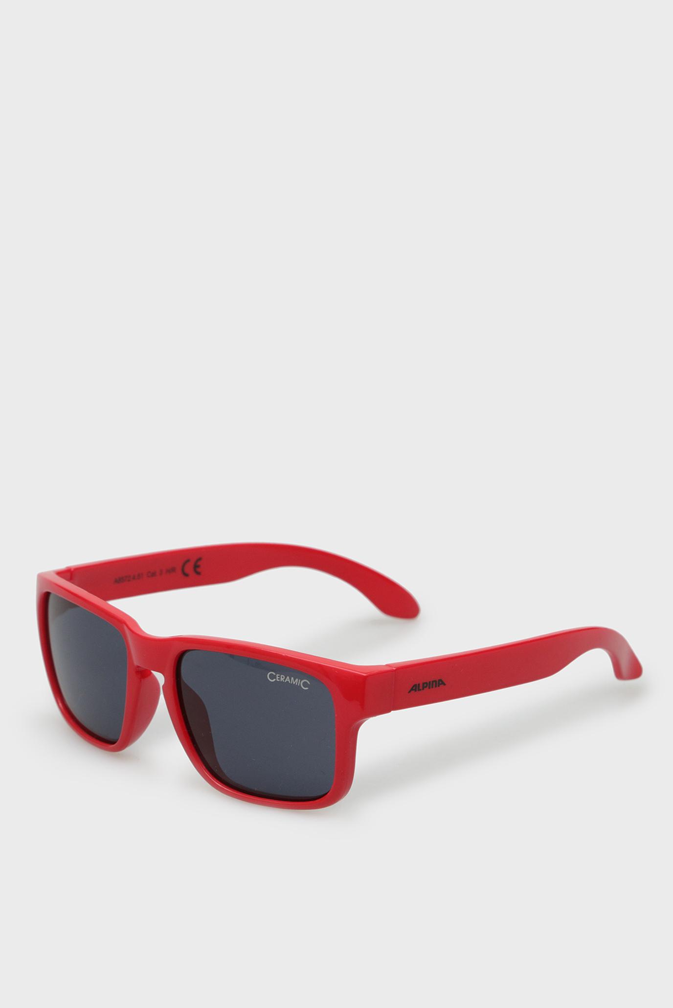 Дитячі червоні сонцезахисні окуляри Mitzo 1