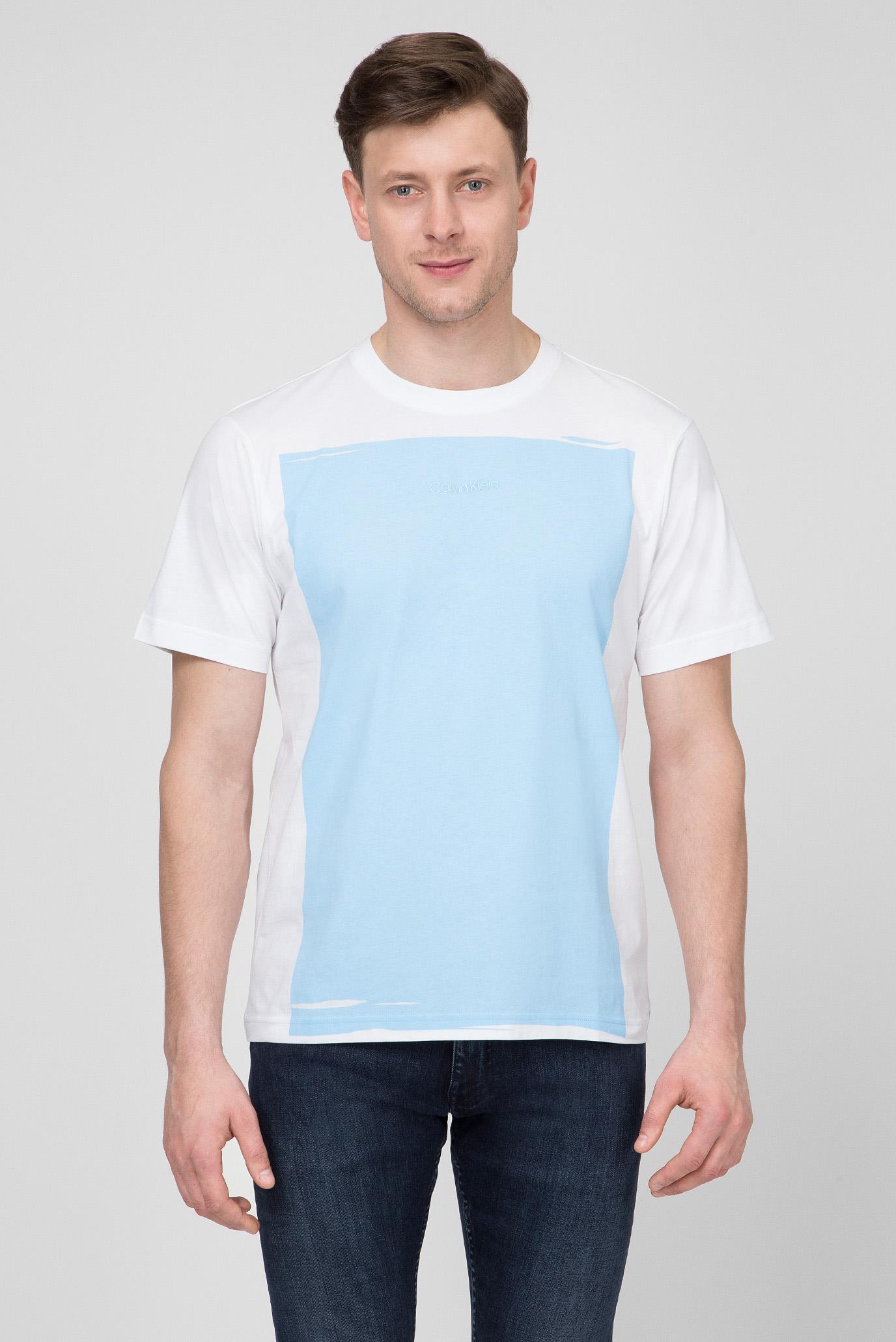 36d4cb8469599 Купить Мужская футболка с принтом Calvin Klein Calvin Klein K10K103675 –  Киев, Украина. Цены в интернет магазине ...
