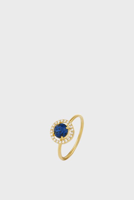 Женское золотистое кольцо SWAROVSKI SPARKLE HALO RING