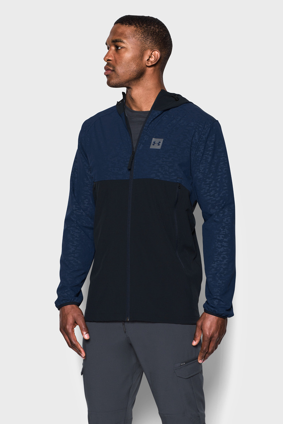 Мужская темно-синяя ветровка Sportstyle Fish Tail Jacket