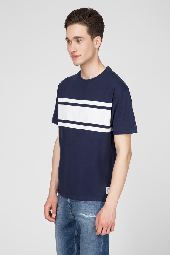 Мужская синяя футболка TJM PEACHED
