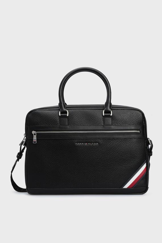 Мужская черная сумка для ноутбука TH DOWNTOWN