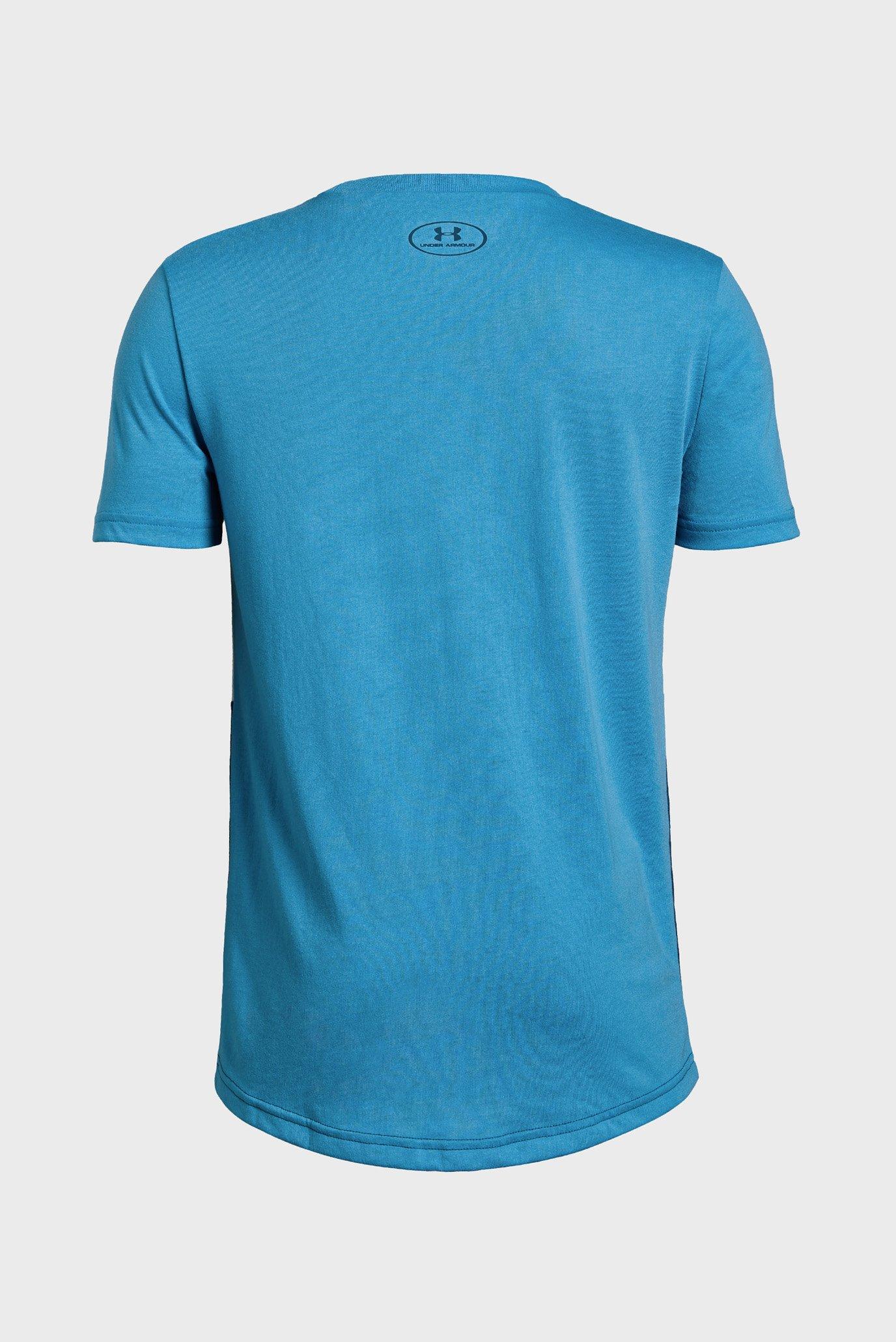 Купить Детская синяя футболка Blocked Pocket Tee Under Armour Under Armour 1329089-452 – Киев, Украина. Цены в интернет магазине MD Fashion