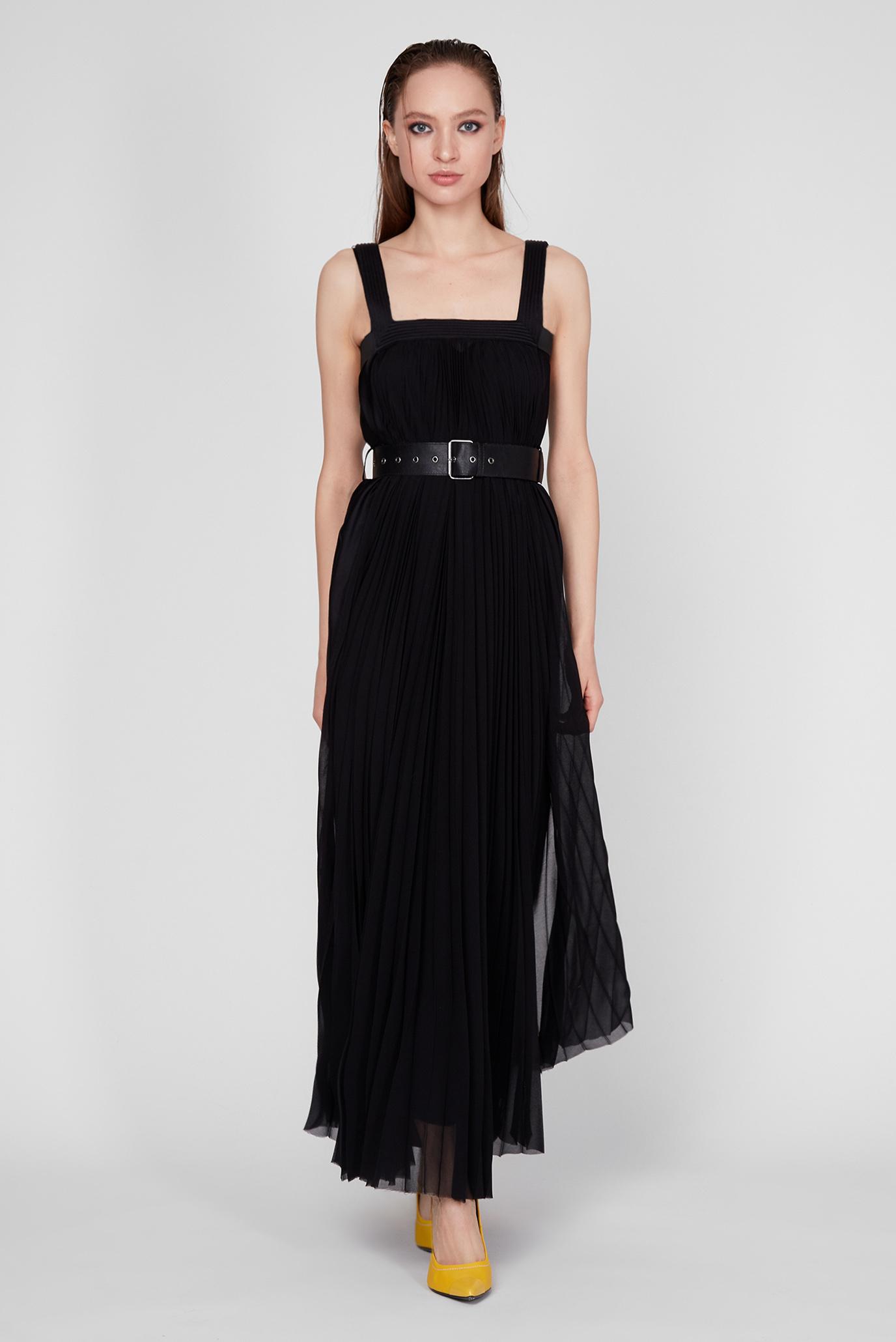 Женское черное платье D-KATHLE 1