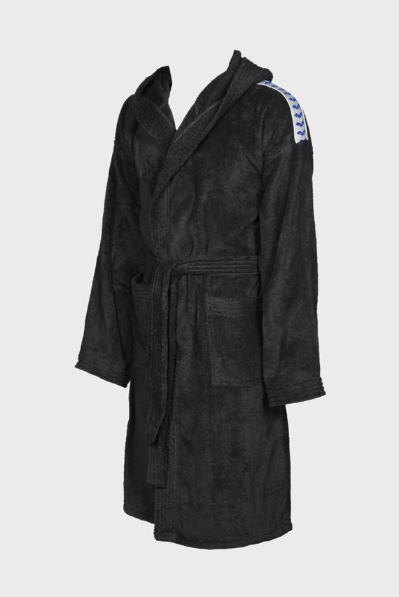 Черный халат CORE SOFT