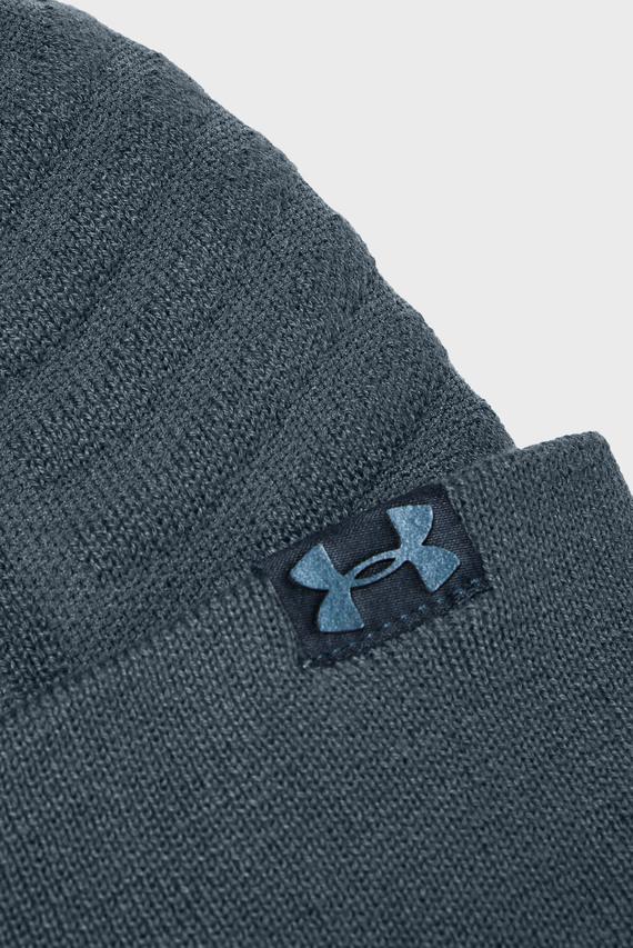 Мужская синяя шапка Men's Perpetual Beanie