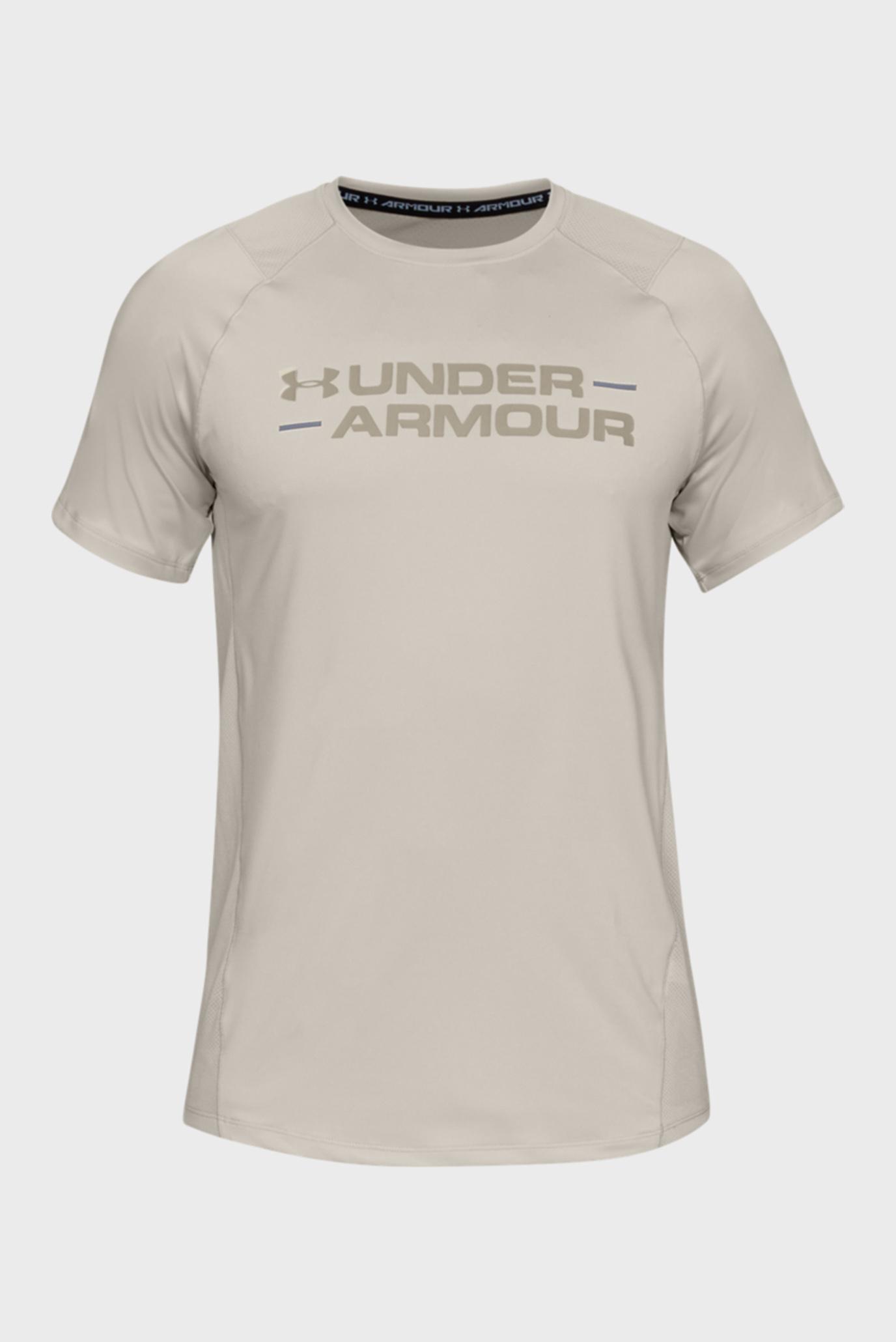 Чоловіча бежева футболка MK1 SS Wordmark 1