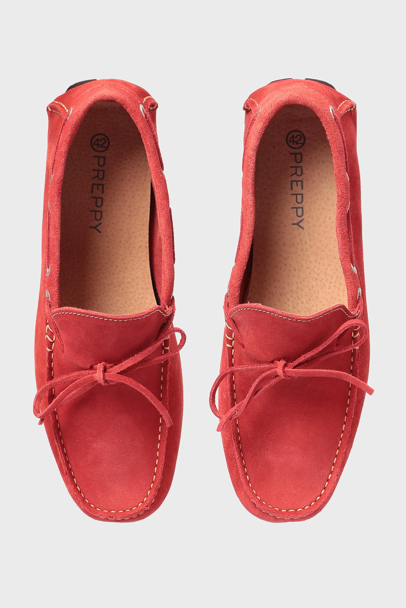Купить Мужские красные замшевые мокасины Preppy Preppy 6.34.32300.417 – Киев, Украина. Цены в интернет магазине MD Fashion