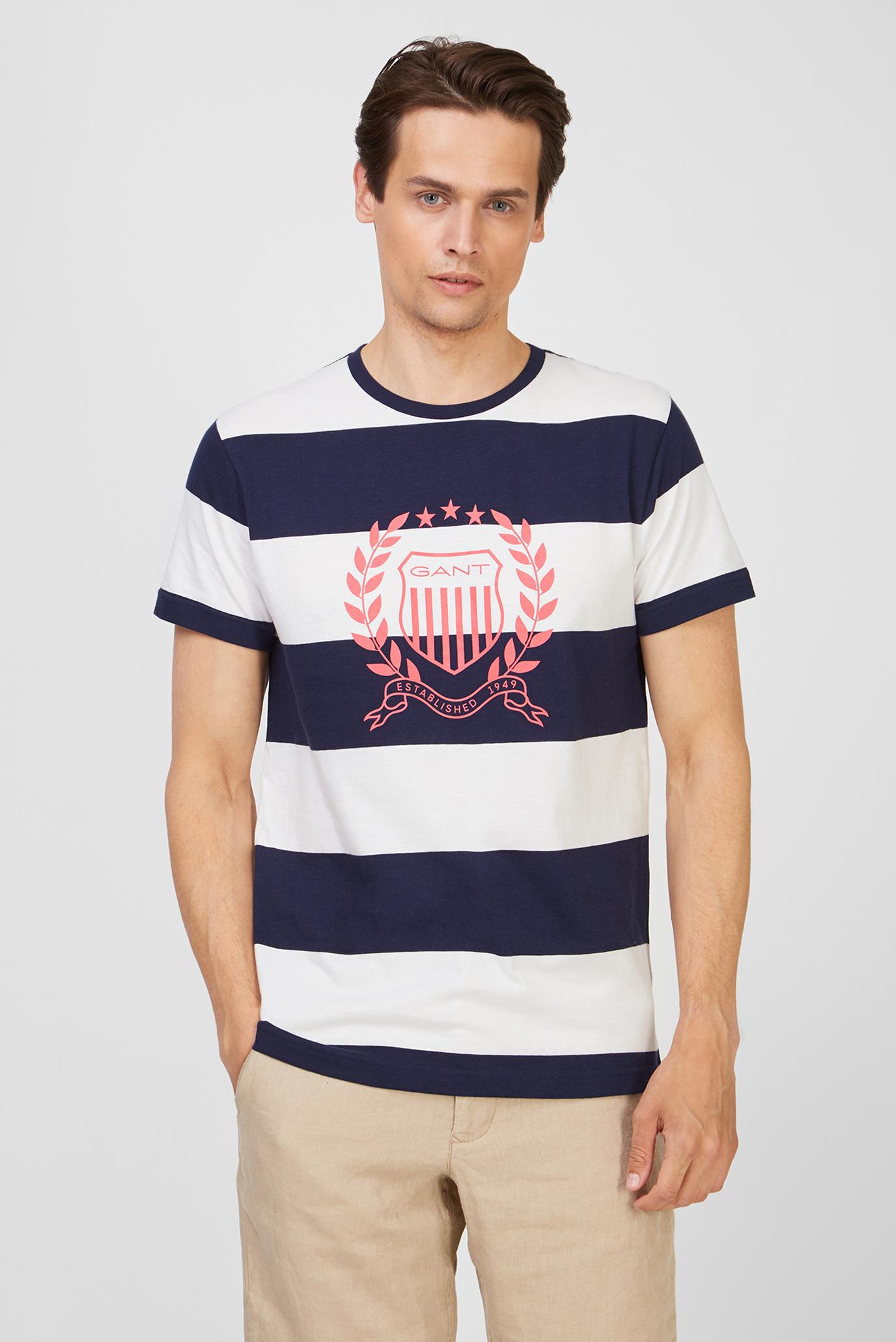 Чоловіча футболка у смужку CREST STRIPE 433 1