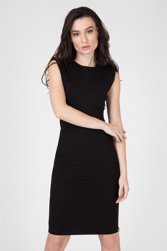 Женское черное платье D-STACIE-A