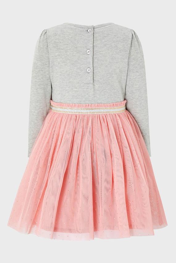 Детское розовое платье BABY UNICORN DISCO