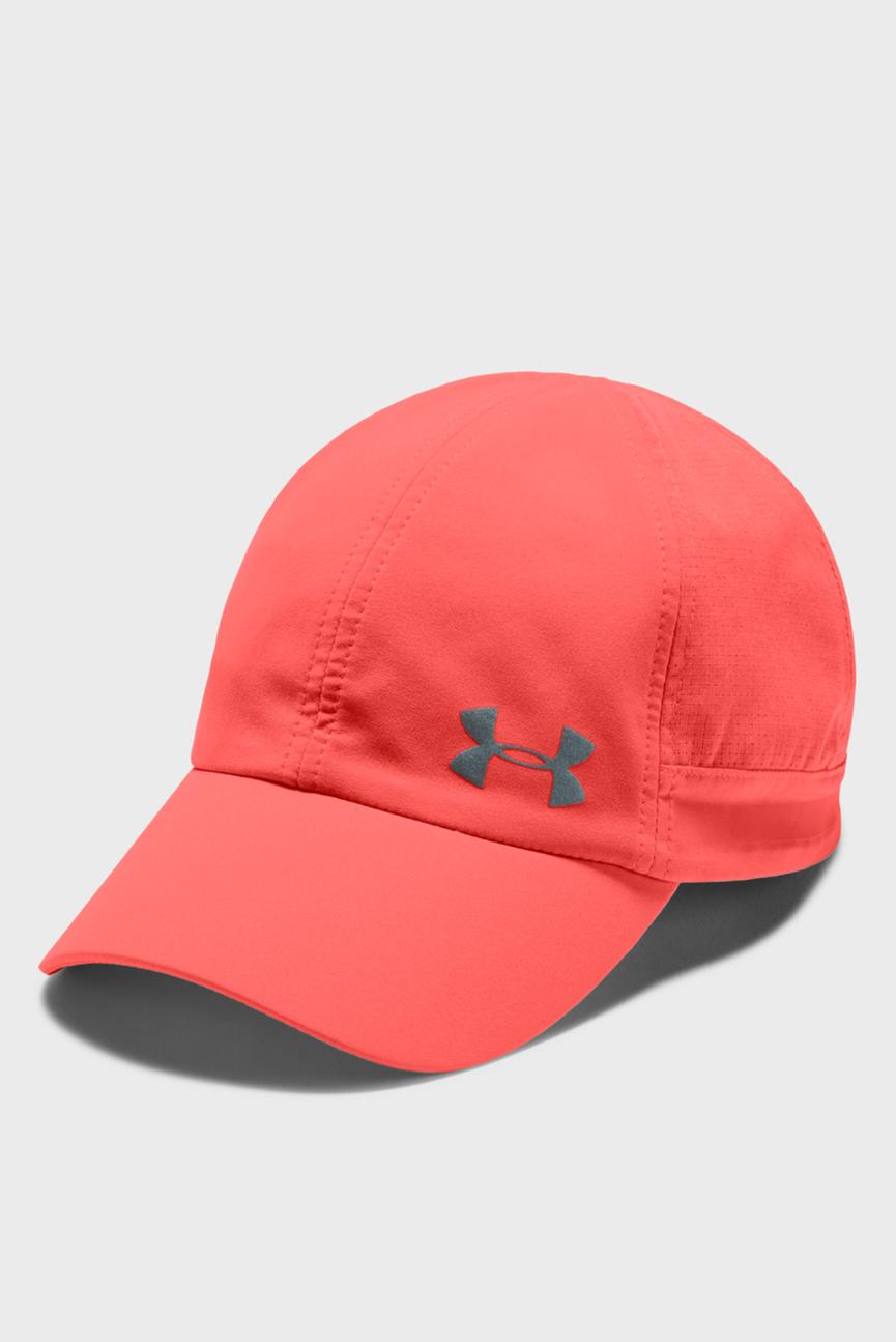 Женская красная кепка UA Fly By Cap