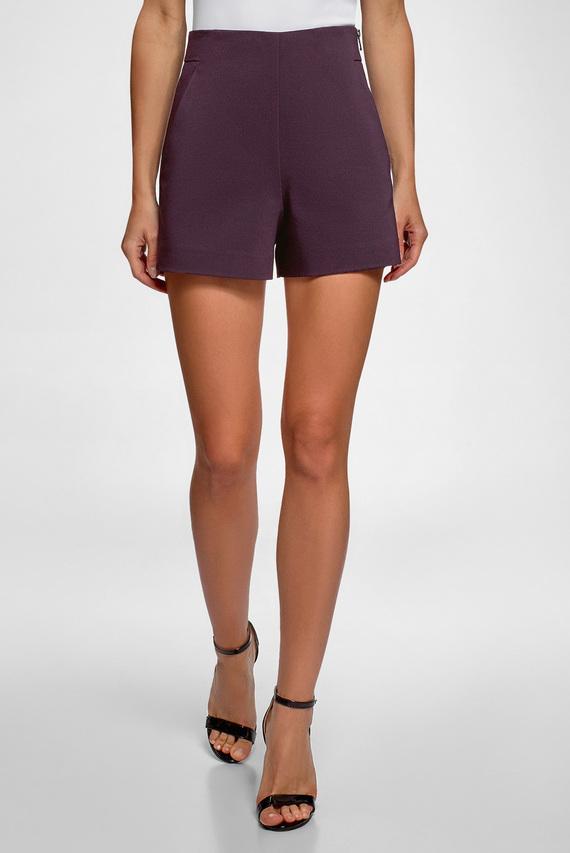 Женские фиолетовые шорты