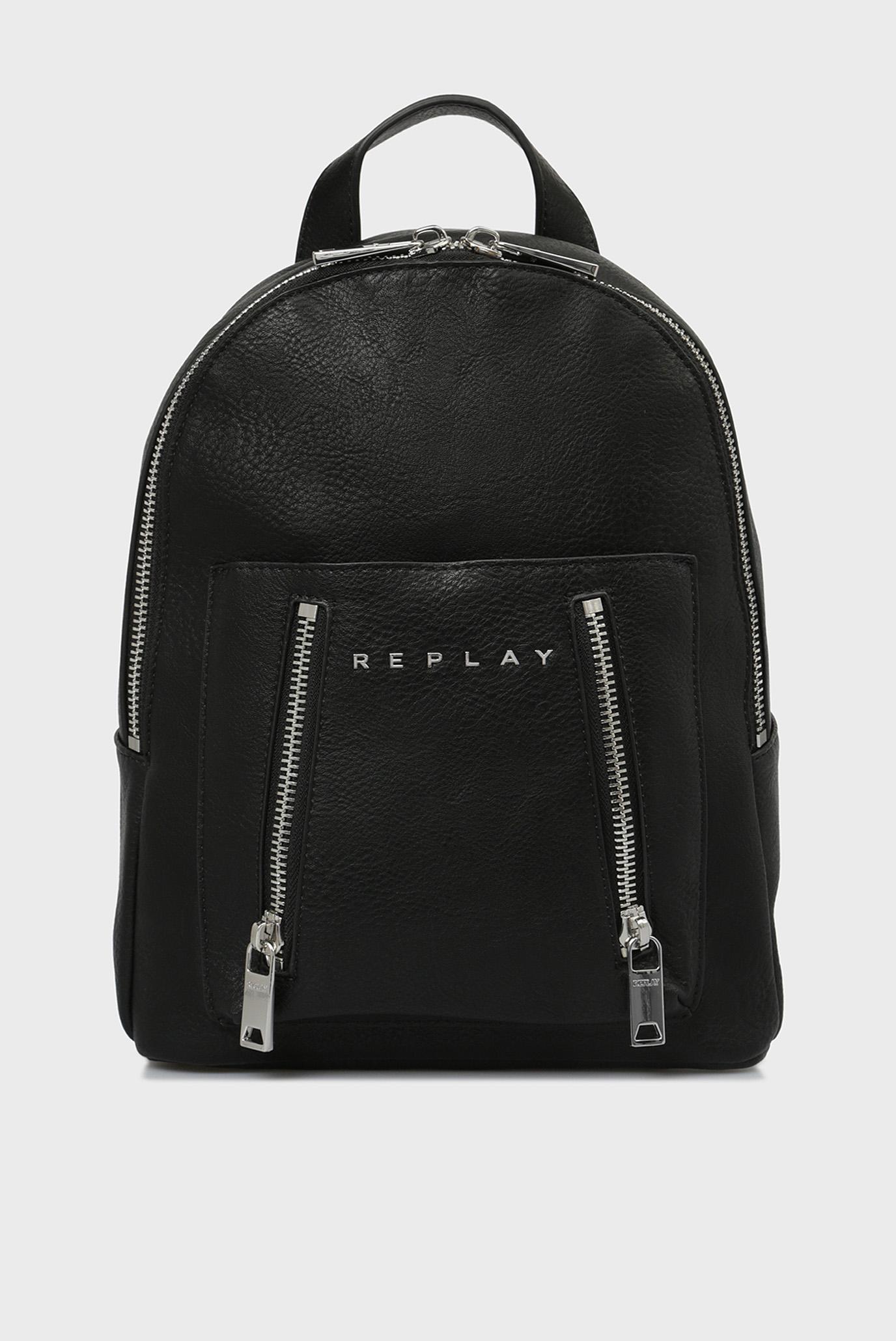 Купить Женский черный рюкзак Replay Replay FW3799.000.A0362 – Киев, Украина. Цены в интернет магазине MD Fashion