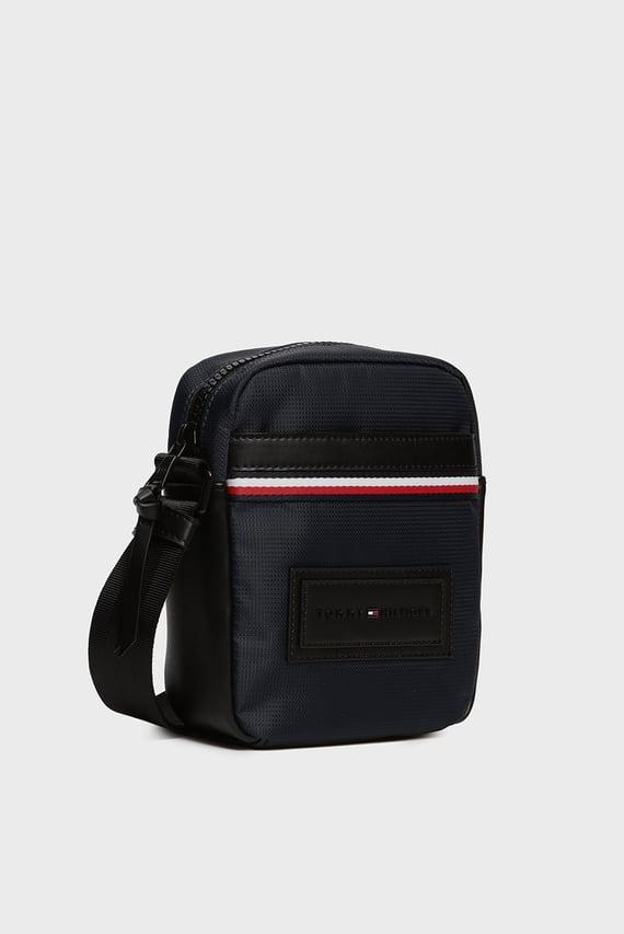 Мужская темно-синяя сумка через плечо MODERN NYLON MINI REPORTER