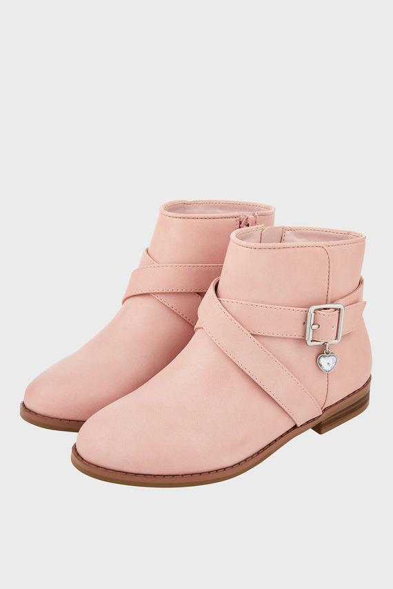 Детские розовые ботинки SADIE CHARM BOOT