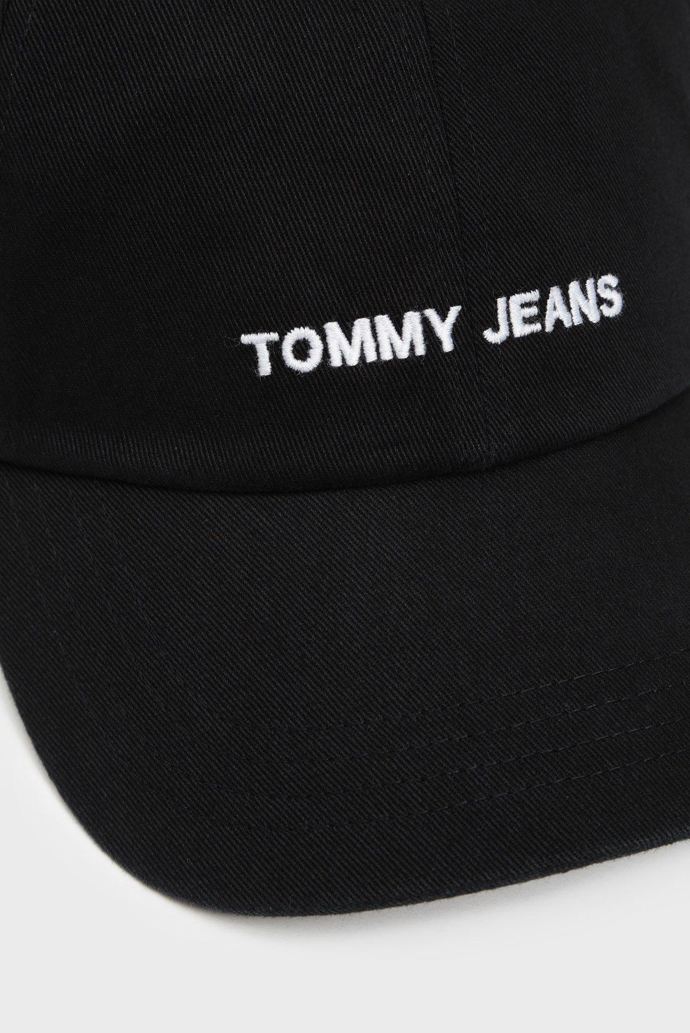 Мужская черная кепка TJM SPORT Tommy Jeans